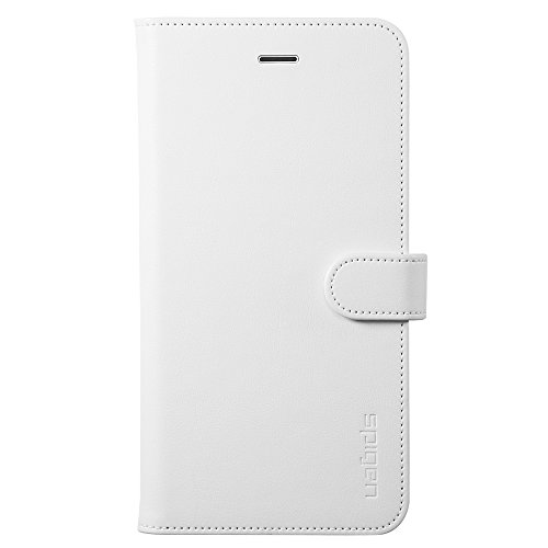cheap for discount e567a 1255d Spigen Wallet S iPhone 6 Plus Case with Foldable Cover and Kickstand  Feature for iPhone 6S Plus/iPhone 6 Plus - White