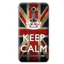 Case Asus Zenfone 2 Laser ZE500KL / ZE 500 KL Keep Calm - UK N