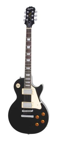 ENS-EBCH1 Epiphone Les Paul STANDARD Electric Guitar, Ebony