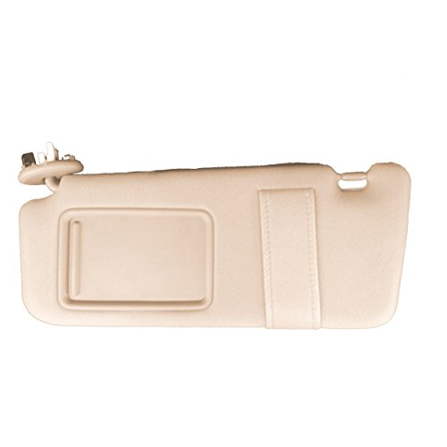 Genuine Toyota Front Beige/Tan Left Side Sun Visor Without Vanity Light (2009 Sun Visor)