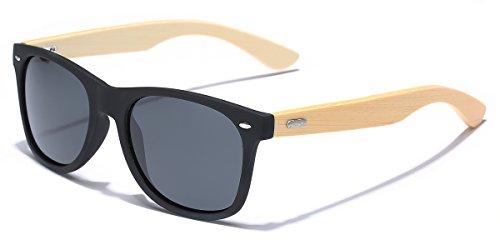 Polarized Fashion Sunglasses Bamboo Temples product image