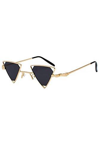 Zinmuwa Pour Triangle Black Uv400 Femmes De Mode Métallique Lunettes 6wfq6r7ng