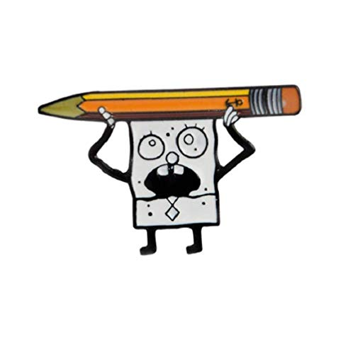 Kolag Co. Doodlebob Spongebob Squarepants Enamel Pin