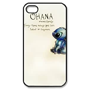 Unique 2014 NEW Funny Cute Ohana Best Durable RUBBER Silicone APPLE iPhone 4 4s Case