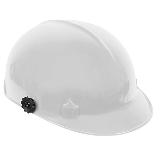 Jackson Safety C10 Bump Cap (20186) with Face Shield Attachment, Safety Hard Hat for Minor Bumps, Absorbent Brow Pad, 4-Pt. Suspension, White, 12 / Case