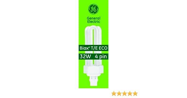 GEBIAX T//E Eco 32 Watt 4 Pin Compact Fluorescent Lamp
