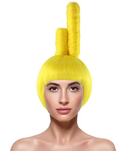 Halloween Party Online Wig for Cosplay Teletubbies Laa-Laa -