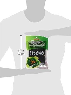 Wel-Pac - Fueru Wakame (Dried Seaweed) Net Wt. 2 Oz. (Pack of 4)