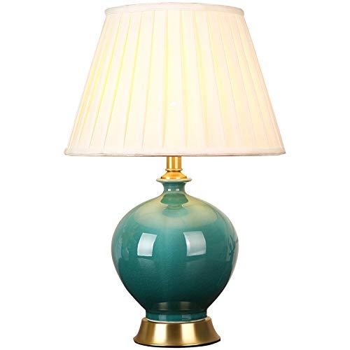 Lámpara de mesa de cerámica de Jingdezhen Lámpara de mesa ...
