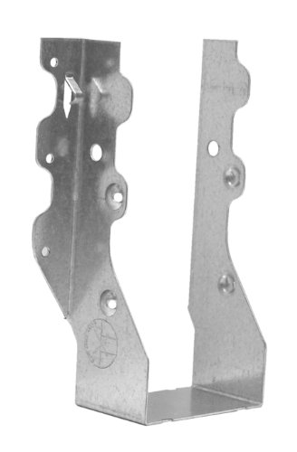 Double Slant Hanger - USP Structural Connectors JUS28-2TZ G185-Triple Zinc Galvanized Double Face Mount Joist Hanger, 2 by 8