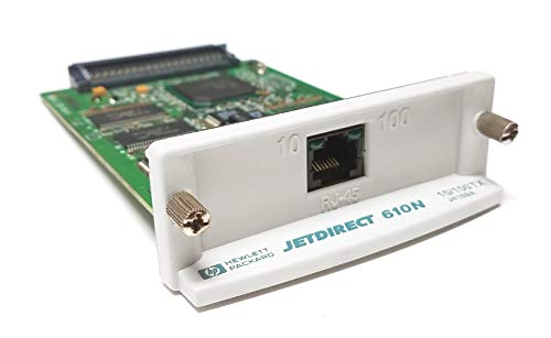 USA Printer Company HP 610N JetDirect Card (J4169A, J4169-69001) Fast Ethernet EIO Internal Print Server w/ 2MB Memory & 10/100Base-TX Network by USA Printer Company