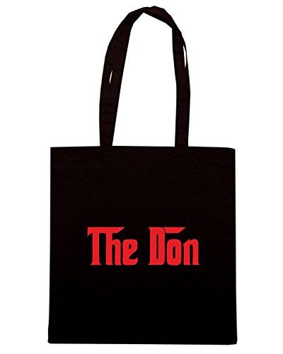 T-Shirtshock - Bolsa para la compra OLDENG00450 corleone Negro