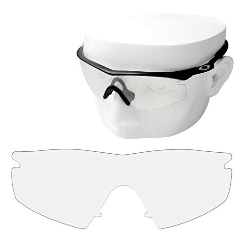 OOWLIT Replacement Sunglass Lenses for Oakley M Frame Strike HD Clear Non-polarized -