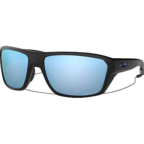1b078db293f31 Oakley Men  39 s Split Shot Polarized Iridium Rectangular Sunglasses MATTE  BLACK ...