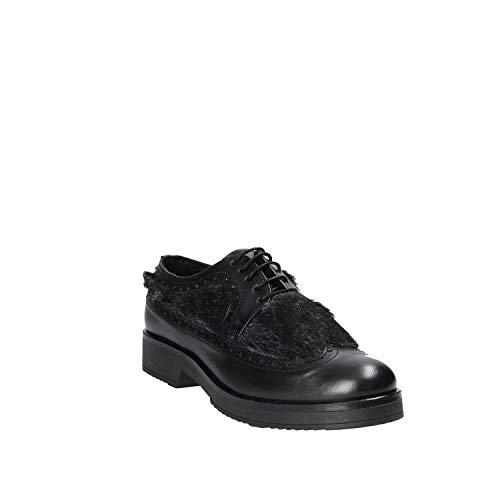 Mujeres 36 Casual 4665sa Mally Negro Zapatos ZwOtOqxX