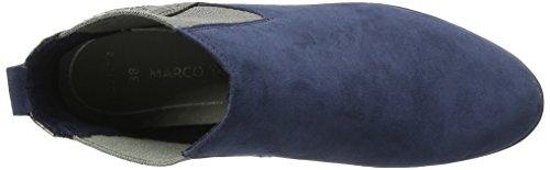 Marco Tozzi 25401, Botines para Mujer Azul (Navy Comb 890)