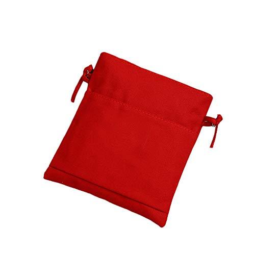 S.Charma Borsa Fashion Bag borsa canvas multicolored Candy monospalla Messenger bag zip tessuto morbido Colore della caramella È Rosso
