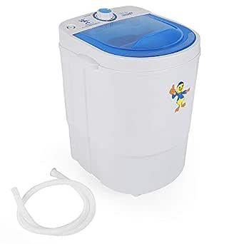 Mini lavadora Lavadoras portátil 200 W Capacidad de 7lbs Mini ...