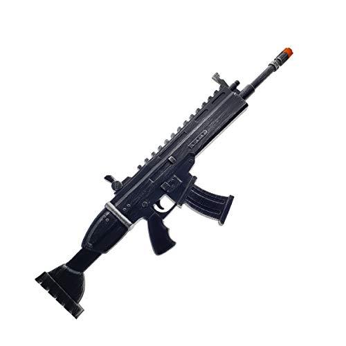- FN Toy Gun, High Density Foam Gun: Scar Rifle with Silencer Props Replica Black