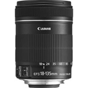 Canon EF-S 18-135mm f/3.5-5.6 IS Standard Zoom Lens for Canon Digital SLR Cameras (New, White box)