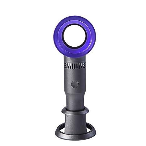 Bearbelly Mini tragbarer wiederaufladbarer blattloser USB-L/üfter mit 3 Geschwindigkeitsmodi Ger/äuscharm Leicht zu tragender pers/önlicher L/üfter f/ür B/üro Heim und Outdoor