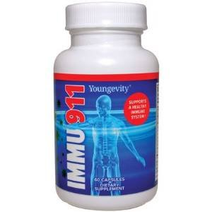 Immume Support Immu-911 - 60 capsules - 3 Pack by YNG