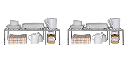 Amazoncom Seville Classics Expandable Kitchen Counter And Cabinet