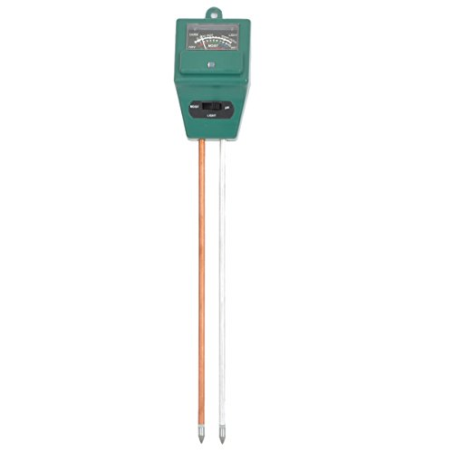 3-in-1 Gardening Soil Measuring Instrument Moisture Meter PH Meter - Green - 9