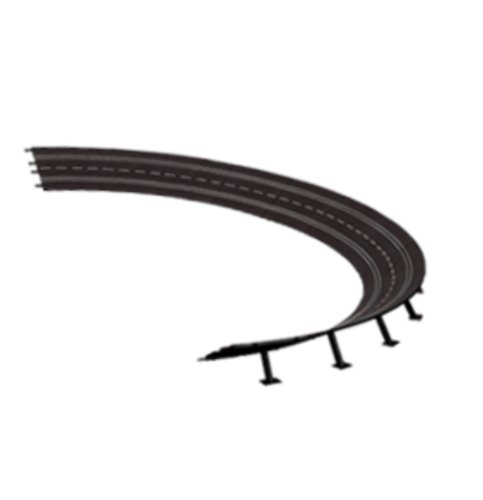 Carrera Digital 124 20579 High banked curve 4 / 15 degrees, 12 pcs