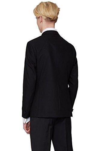 Suit Me di Uomini 2 piece Il doppio Moderna giacca pulsante petto festa di nozze vestito smoking smoking vestito, gilet, pantaloni
