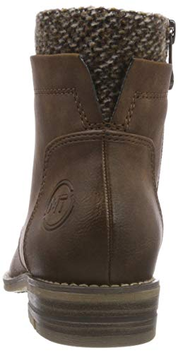 21 327 2 Bottes Tozzi Marco 25119 Femme 327 Comb Cafe 2 Marron Ant Rangers fwIXwH5