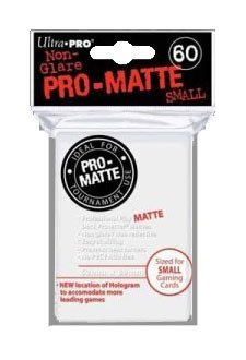 Ultra Pro PRO-MATTE SMALL (600 Count) White Deck Protector Sleeves - YuGiOH 10 Pack Box/Case by Pro-Matte Small (Image #1)
