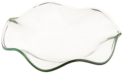 Electric Oil Warmer Glass Dish Bowl for Tart Diffuser Fragrance Lamp Scent Oil Warmers Aroma Warmer Light- Size 3 1/2