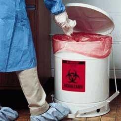 [해외]생물 폐기물 폐기물 용기, Justrite - Model 5930 - 각 (10 GL) - Model 5930/Biohazard Waste Containers, Justrite - Model 5930 - Each (10 GL) - Model 5930