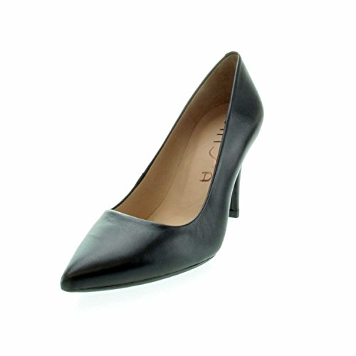 Unisa Women's Tola_f17 Na Black Court Shoes Black 859Kvnvyk5