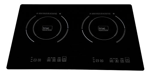 True Induction TI-2B Counter Inset Double Burner Inductio...