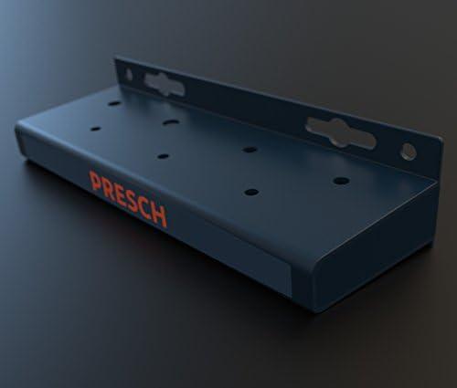 soporte pr/áctico de destornilladores en pared de taller o garaje Presch soporte de pared para destornilladores