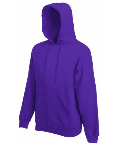 Fruit of the Loom - Sweat-shirt -  Homme -  Violet - Violet - XL