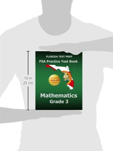 FLORIDA TEST PREP FSA Practice Test Book Mathematics Grade 3 ...