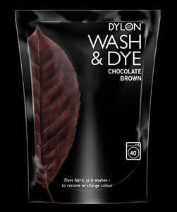 Lavado y tinte marrón Chocolate – 12 x – Dylon máquina Dye se ...