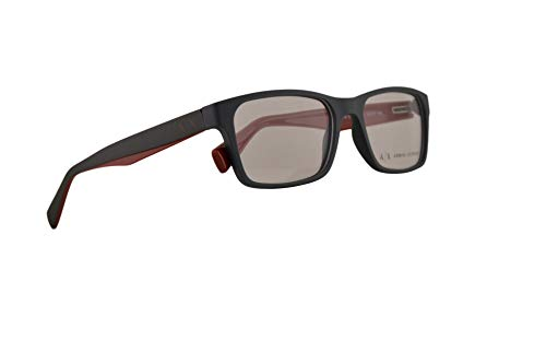 Smoked Grey Lens - Armani Exchange AX3038 Eyeglasses 54-17-140 Matte Smoked Pearl w/Clear Demo Lens 8200 AX 3038