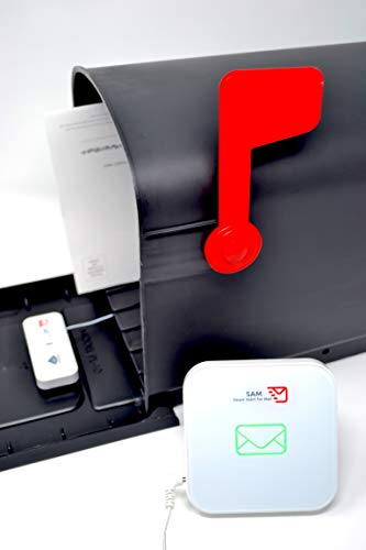 SAM - Smart Alert for Mail - Wireless Mailbox Activity System Including Smartphone Alerts via Free App