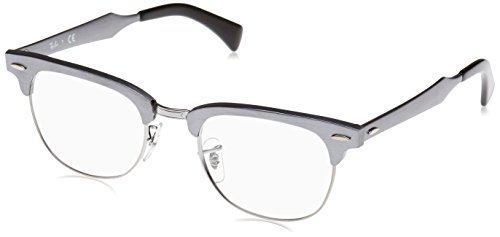 Ray Ban Optical Montures de lunettes RX6295 Aluminium Red / Black, 49mm Noir (Negro)