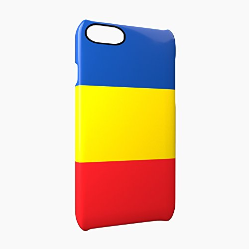 Flag of Chad Glossy Hard Snap-On Protective iPhone 7 Plus + Case Cover