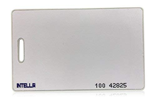 100 INTELLid 26 Bit Clamshell Proximity Access Control Cards by INTELLid