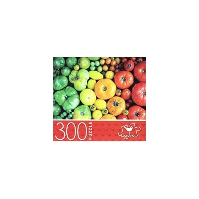 Rainbow of Veggies - 300 Piece Jigsaw Puzzle: Toys & Games