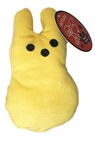 Easter Candy Bunny Plush Dog Toys (1 -
