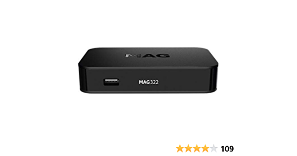 3 x MAG 322 IPTV SET TOP BOX Multimedia player Internet HD TV IP Konsole 3D USB