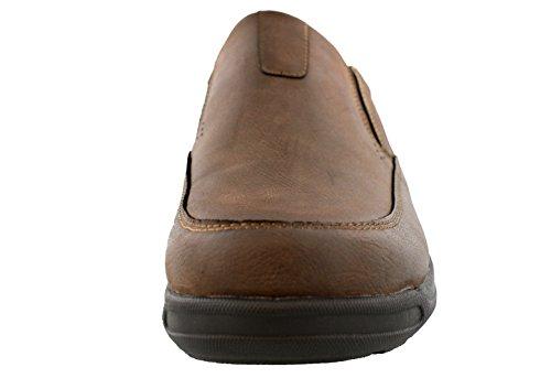 Dr. Scholls Ferrell Mens Slip On Walking Shoes Brown H9QkV9NC