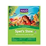 Halo Purely For Pets Adult Dog Food, Spot's Stew Lamb 4 LB (Pack of 6)